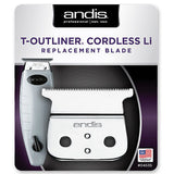 Andis T-Outliner Cordless Li Replacement T-Blade 04535
