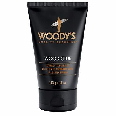 Woody's Wood Glue Extreme Styling Hair Gel 4oz
