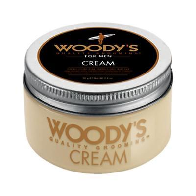Woody's Hair Styling Cream 3.4oz Styling For Wavy Curly Hair