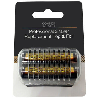 Common Wealth Professional Barber Shaver Replacement Top & Gold Foil CWPSRT26
