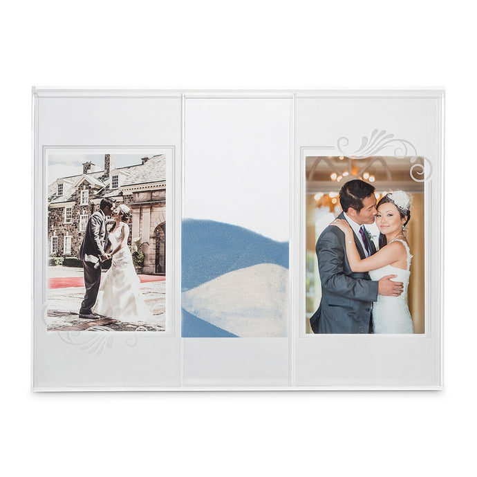 New Clearly Love Shadow Box With Photo Frames