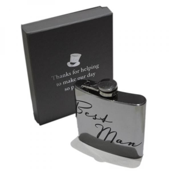 'Best Man' Hip Flask