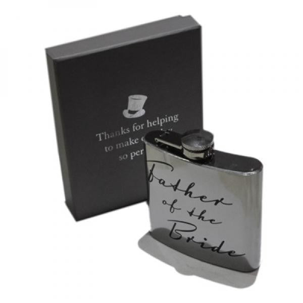'Father Of The Bride' Hip Flask