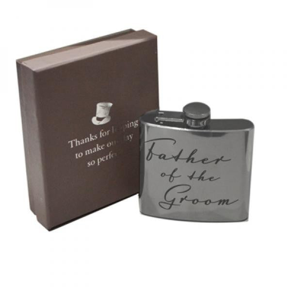 'Father of the Groom' Hip Flask