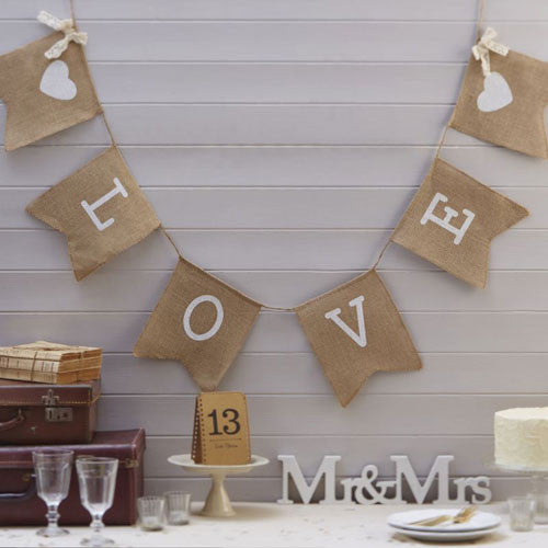 Hessian Bunting - Love