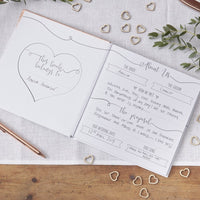 Wedding Planner Rose Gold