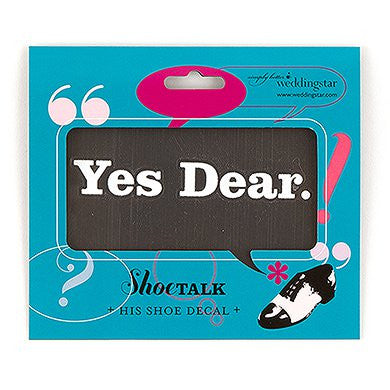 'Yes Dear' Decal