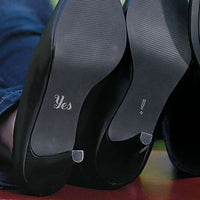 'YES' Shoe Decal