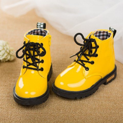 Modern Hightop Baby Boots