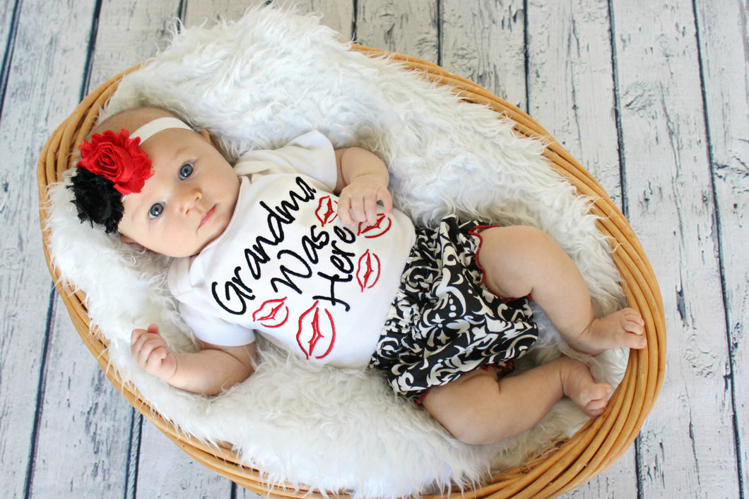 3pcs suit baby girls clothes newborn Girls Infant Kids Letter Printed Romper +Ruffles Pants Flower Headband 3pcs Outfit Set - Baby Clothes Connect