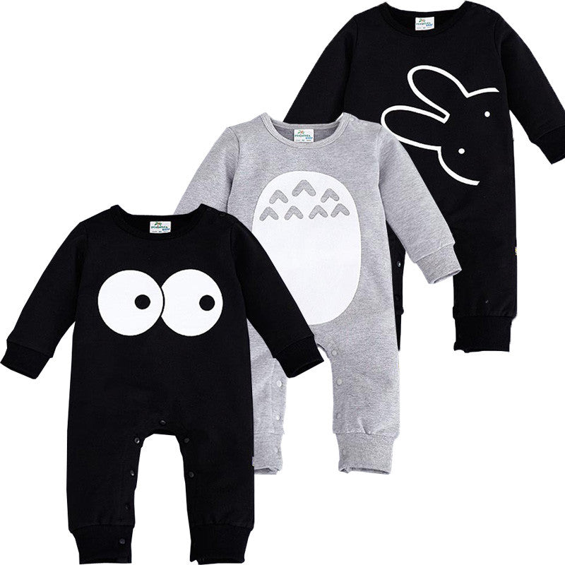 2017 Fashion Cute Animal Romper Cartoon Big Eyes Unisex Baby Clothes Rabbit Newborn Baby Jumpsuit Ropa Bebe Recien Nacido - Baby Clothes Connect