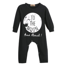 To The Moon Statement Romper - Baby Clothes Connect
