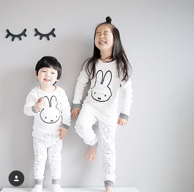 2016 Spring and Autumn Children Pyjamas Children Sets Long Sleeve Cartoon Boys Girls Clothes Set Baby Sleep wear Clothes CCS355 - Baby Clothes Connect