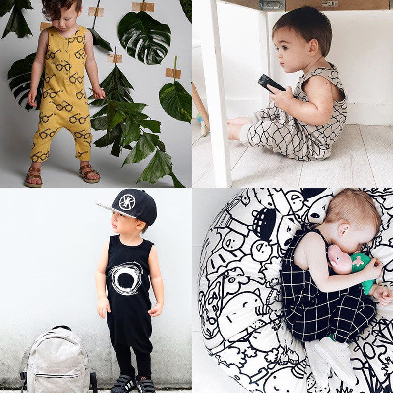 Artsy Baby Hipster Jumpsuit