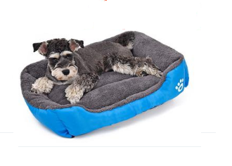 Candy Colored Super-Soft Washable Dog Bed