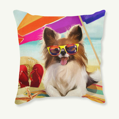 Fun Dog Print Cushion