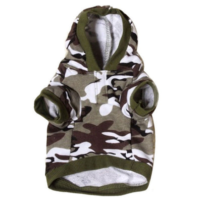 Woofsters Doggy Camo Hoodie