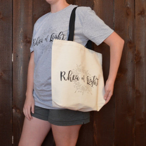 PRINTED ROL LOGO CANVAS TOTE