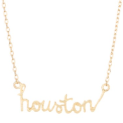 GOLD HOUSTON NECKLACE