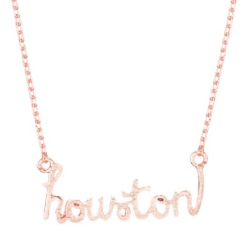 ROSE GOLD HOUSTON NECKLACE