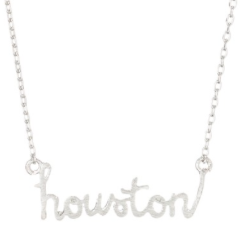 SILVER HOUSTON NECKLACE