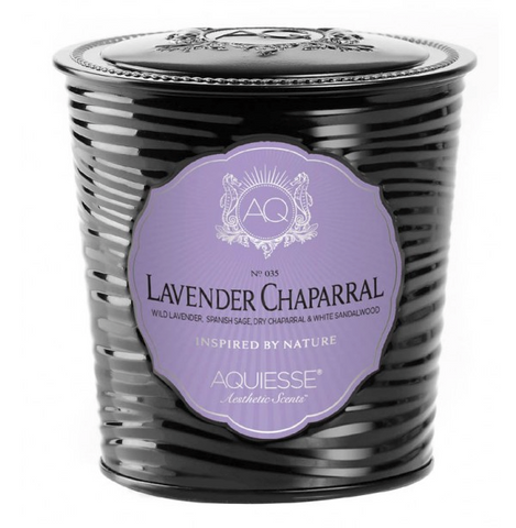 LAVENDER CHAPARRAL, LUXE TIN CANDLE
