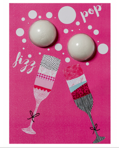 BIRTHDAY BUBBLY BATH BLASTER CARD