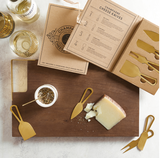 GOLD CHEESE KNIVES GIFT SET