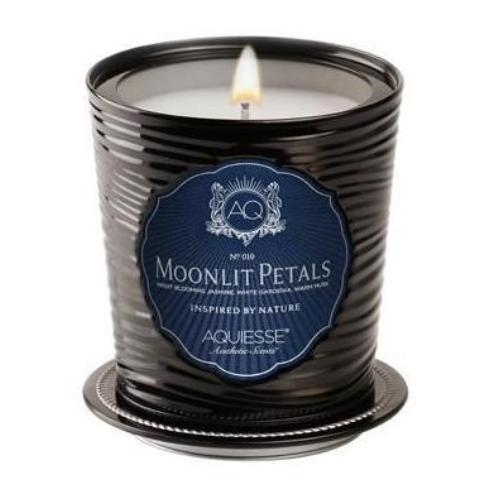 MOONLIGHT PETALS, LUXE TIN CANDLE