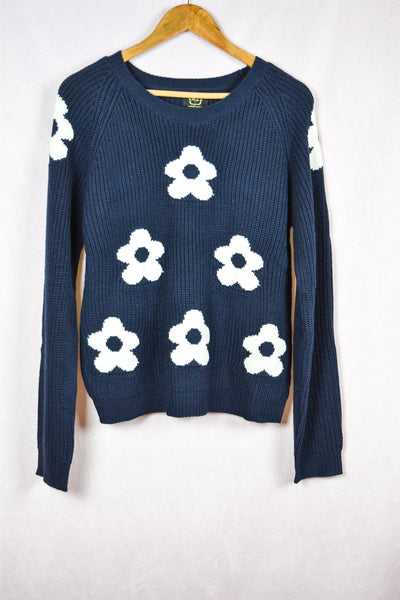Daisy Knit Sweater