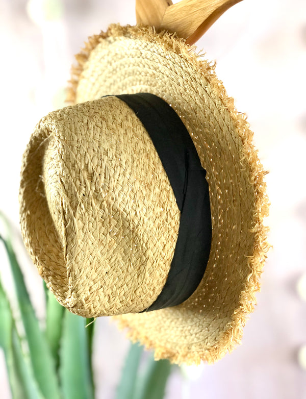 IN THE SHADE STRAW HAT