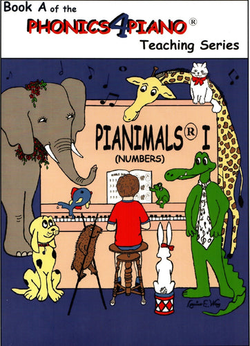 Pianimals Book A - Beginner Piano