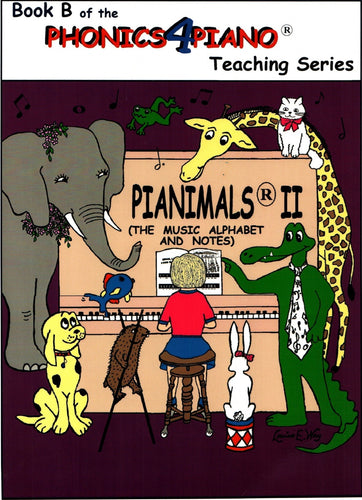 Pianimals Book B - Beginner Piano