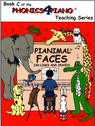 Pianimals Book C - Beginner Piano