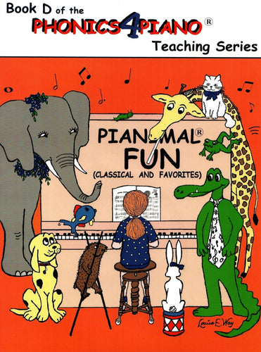 Pianimals Book D - Beginner Piano