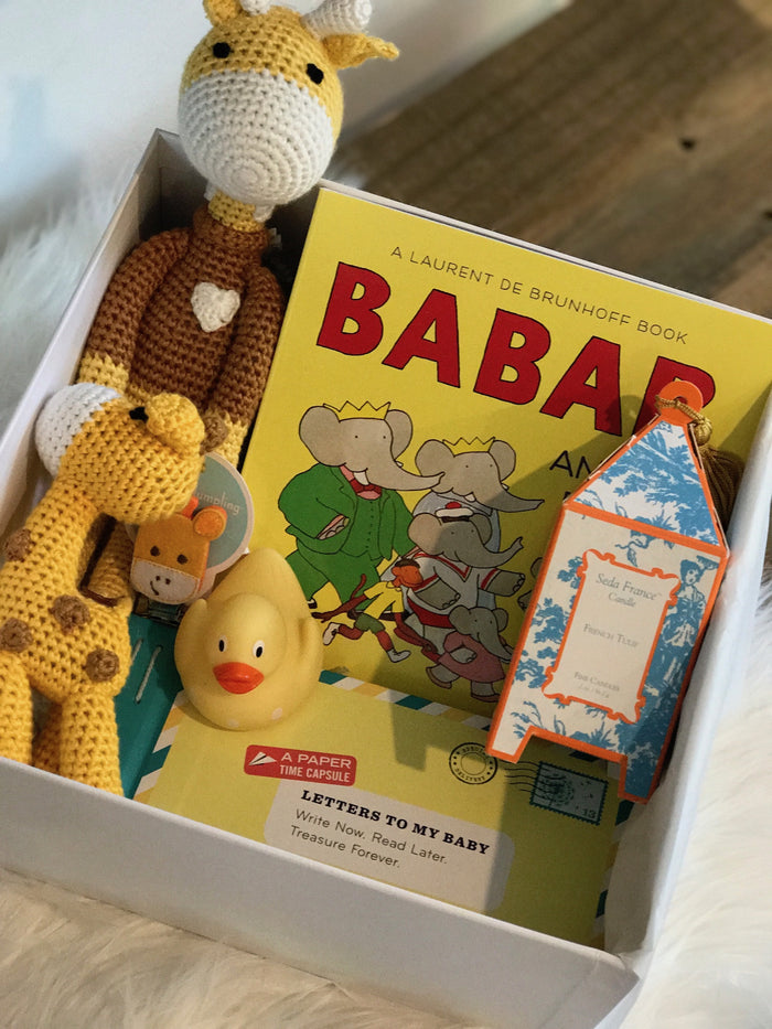 Giraffe Baby Bundle
