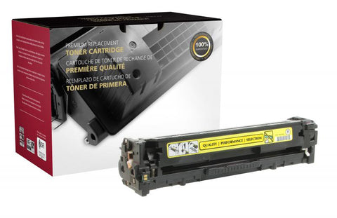 Clover Technologies Group, LLC Compatible Yellow Toner Cartridge for HP CF212A (HP 131A)