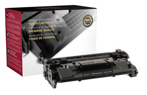 Clover Technologies Group, LLC Remanufactured Toner Cartridge (Alternative for HP CF287A 87A) (9000 Yield)