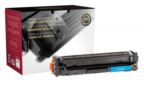 Clover Technologies Group, LLC Remanufactured High Yield Cyan Toner Cartridge (Alternative for HP CF401X 201X) (2300 Yield)