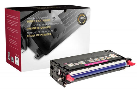 Clover Technologies Group, LLC CIG Compatible High Yield Magenta Toner Cartridge (Alternative for Xerox 106R01393) (5900 Yield)