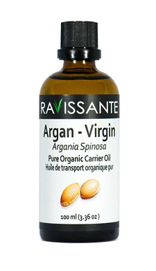 Argan Virgin Organic Carrier Oil - 100 ml (Moroccan Oil)