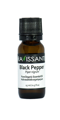 Black Pepper Organic Essential Oil - 15 ml