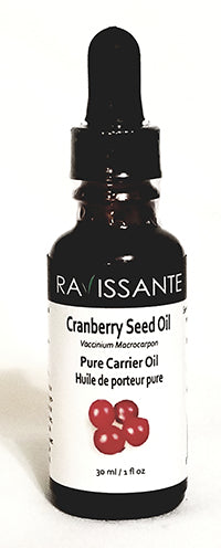 Cranberry Seed Oil - 30 ml (w glass dropper)