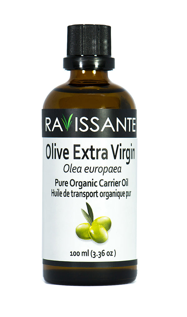 Olive Extra Virgin Organic Carrier Oil - 100 ml
