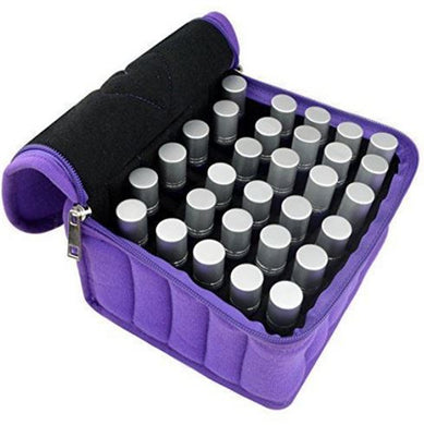 Essential Oil Carrying Bag - Bottle Sizes 5 ml, 10 ml, and 15 ml Avail in 4 Colours
