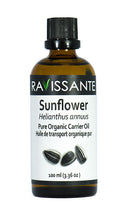Sunflower Organic Carrier Oil - 100 ml