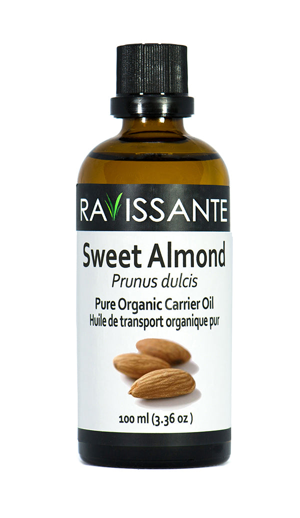 Sweet Almond Organic Carrier Oil - 100 ml