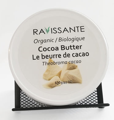 Cocoa Butter Organic - 130 g (4.7 oz net weight)
