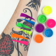 6 Piece UV Neon Pigment Makeup Set / use code: makeupjunkie 52% off