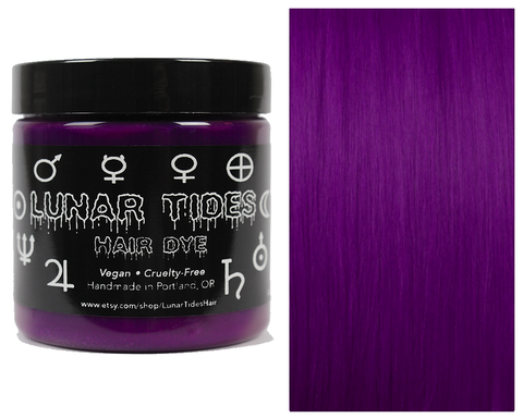 Lunar Tides Cruelty Free Hair Dye - Plum Purple